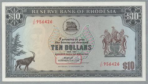 Zaire 1 Zaire 1979 Gem Unc 19a Pmg 66 Mobutu Leopard 10 dollars rhodesia banknote 03 12 1975 33 b