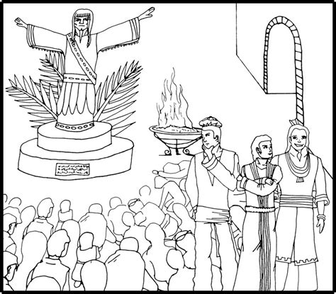 Shadrach Meshach And Abednego Coloring Page Az Coloring Shadrach Meshach And Abednego Coloring Page
