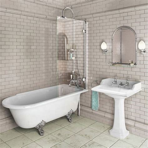 bathroom with shower and bath burlington hton shower bath 1500 rh