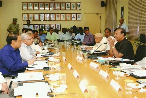 Chairing A Committee Meeting by Tr Baalu Member Of Parliament