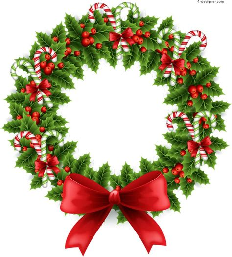 pattern natalizi illustrator 4 designer beautiful christmas wreath illustrator vector