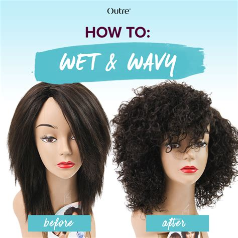 How To Activate Your Wet Wavy Weave Outretalks | how to do a bob wet n wavy sew in how to activate your wet