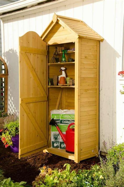 meuble pratique pour le rangement outils de jardin