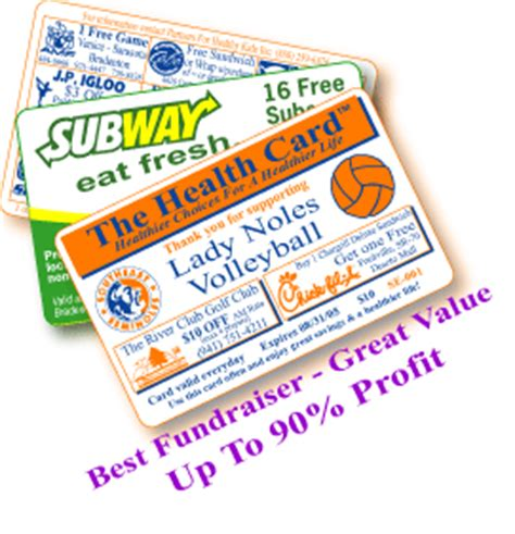 Gift Card Fundraiser Canada - discount card healthy fundraising