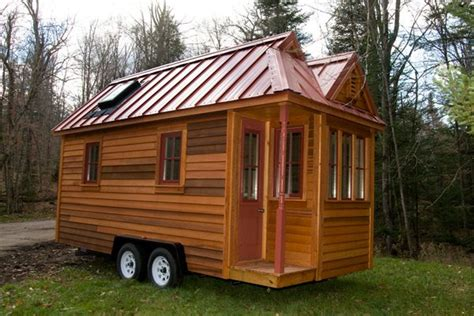 the 130 square foot quot fencl quot tiny house being pulled by a new 130 sf fencl tiny house available for sale from
