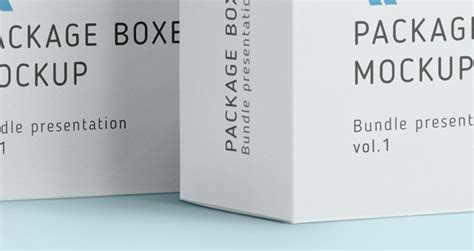 Psd Product Box Package Mockup   Psd Mock Up Templates