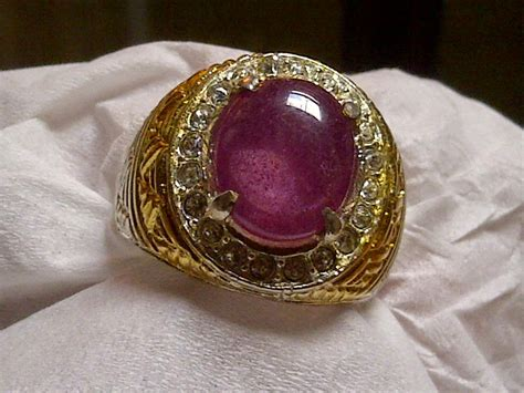 Cincin Ruby 13 5 Mm toko batu permata ruby africa