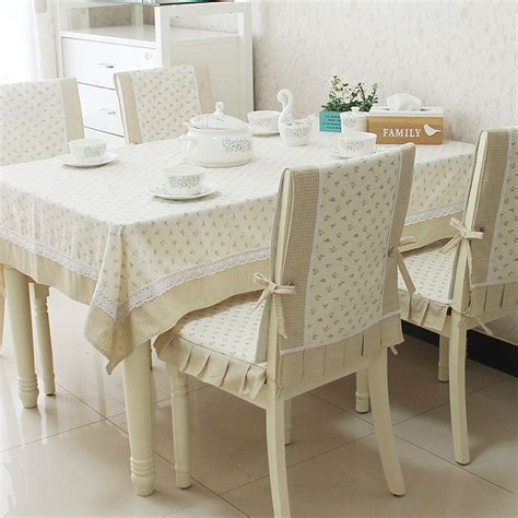 new arrival dining table cloth cushion chair cover fabric