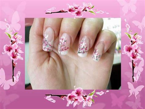 nail fiori di pesco fiori di pesco bianchi images