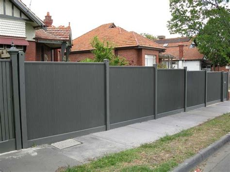 corrugated metal fence ideas 17 best images about fence ideas on corrugated metal fence wooden gates