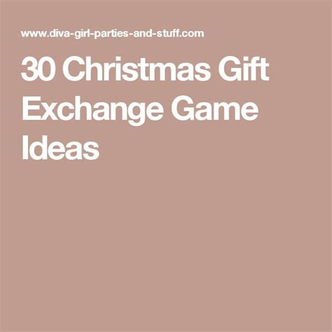 Fun Gift Card Exchange Games - best 25 gift card exchange ideas on pinterest christmas exchange ideas gift