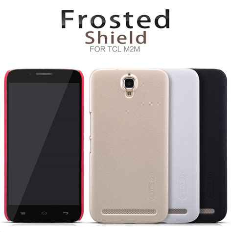 Nillkin Frosted Shield Alcatel One Touch Flash Plus Golden nillkin frosted shield for alcatel one touch flash plus golden