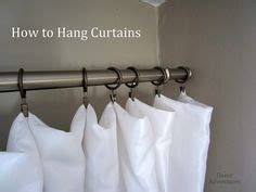 how to make curtains hang straight making pleated curtain panels the easy way curtains