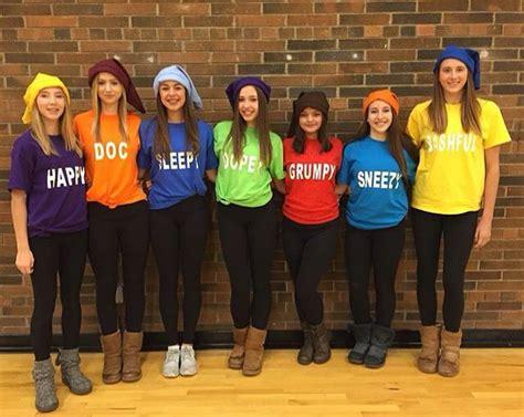 dwarves cute group halloween costume