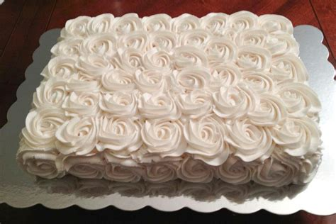 Cake Decorating Rosettes you to see buttercream rosette cake by cwelling