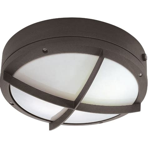 Photocell Light Fixtures Nuvo Lighting 62544 2 Light Twist Lock Base 10 5 Quot Hudson Architectural Bronze Finish With
