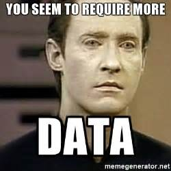 Data Star Trek Meme - star trek data meme generator