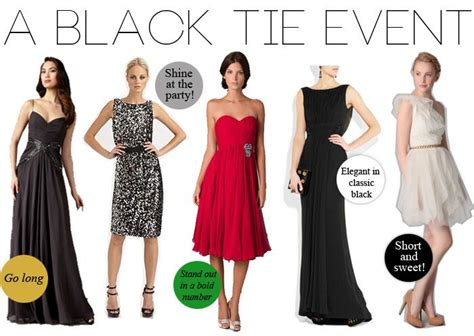 themed black tie events black tie event dress guide for women source http www