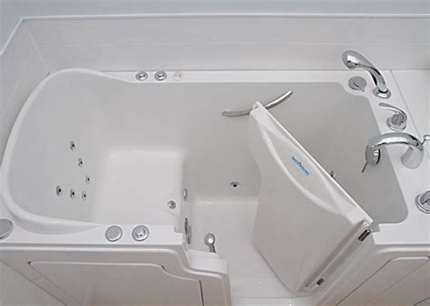 step in bathtubs walk in bathtubs for seniors safe step tub