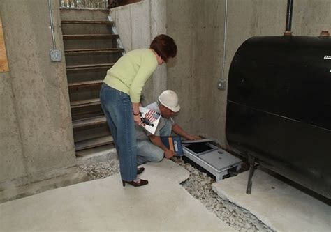 basement waterproofing drain system home