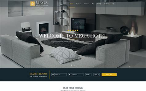 W00c0mmerce Bookings V1 10 6 1 mega hotel booking bootstrap theme v1 1 raptor themes