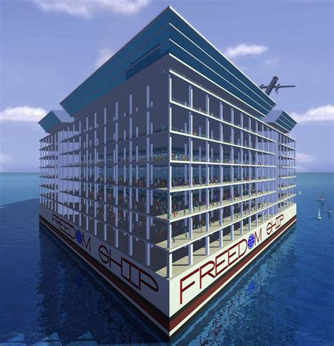 what is the biggest boat in the whole wide world the incredible mile long floating city complete with