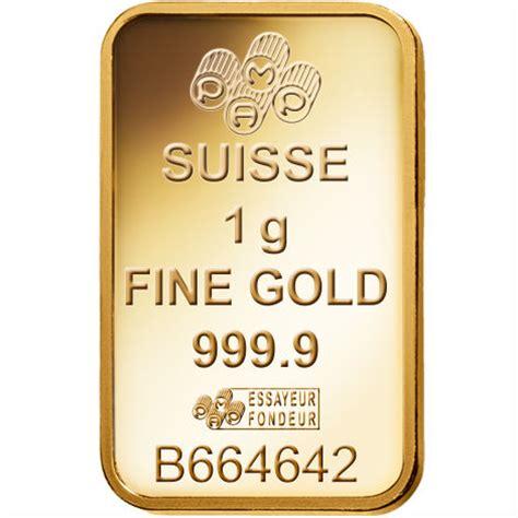buy 1 gram pamp suisse veriscan gold bars silver.com