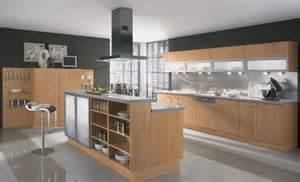 Modern Wooden Kitchen Designs Elegant Wooden Contemporary Kitchen Designs 2016 Nove Home