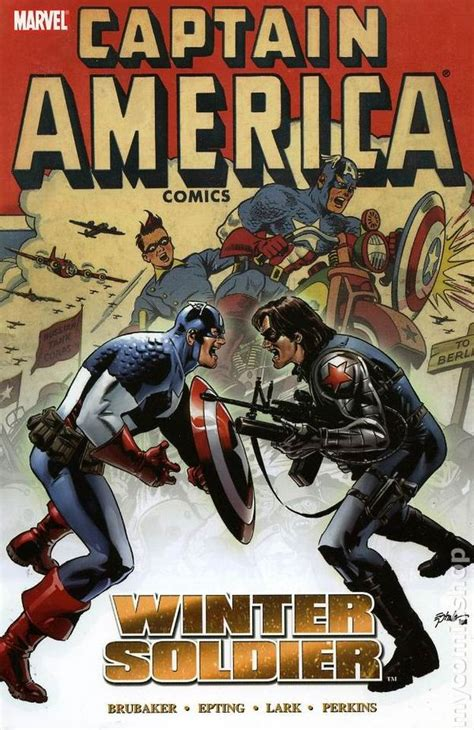 the book of captain america multilingual edition books captain america winter soldier tpb 2006 marvel 1st