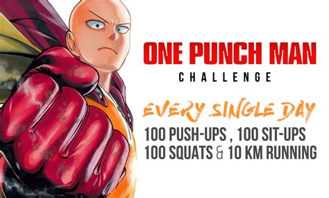 one challenge all you need to about the one punch workout