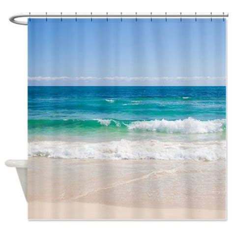 beach fabric shower curtain best 25 beach shower curtains ideas on pinterest