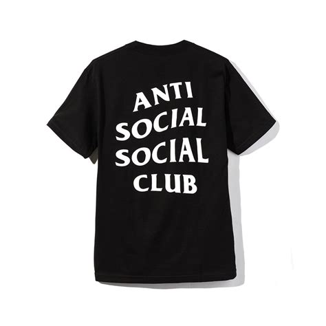 Kaos Tshirt Jakarta Is For Logo Pink Anti Social Social Club T Shirt Blvcks Culture