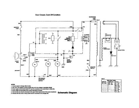 circuit diagram of a microwave transformer circuit free
