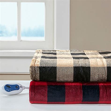 Sleeping With Electric Blanket by True By Sleep Philosophy Oversized Heated Throw