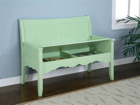 green storage bench powell color story green storage bench 285 261