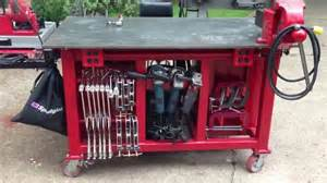 Flip Top Tool Bench Diy Welding Table And Cart Ideas