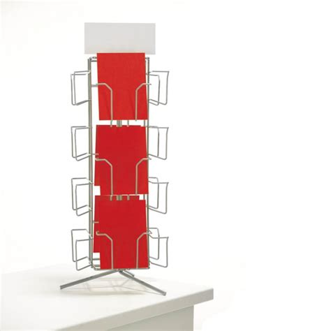 greeting card display stand template counter standing greeting card 7x5 spinner card display