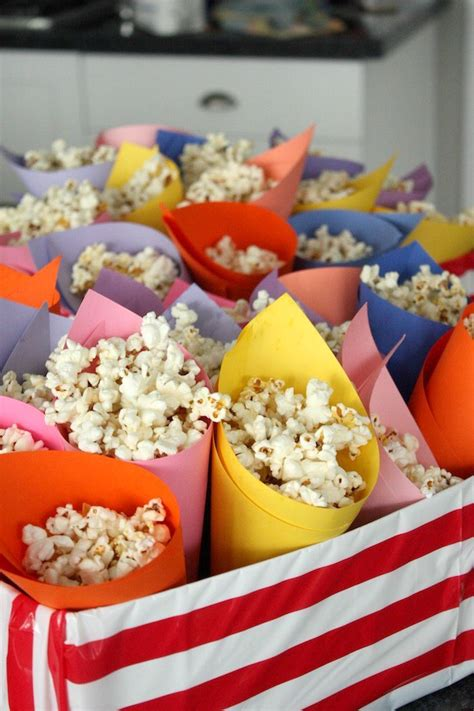 carnival themed food parmesan popcorn recipe free birthday circus party
