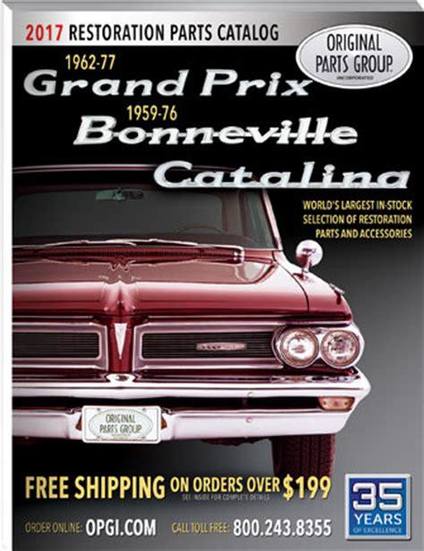 pontiac parts catalog free 1962 77 pontiac grand prix bonneville parts