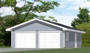 24x36 Garage Plans 36x28 3 Car Garage 36x28g2 1 008 Sq Ft Excellent