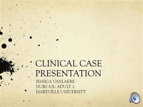 Clinical Case Presentation Authorstream Clinical Presentation Template
