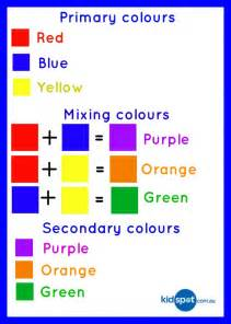 primary secondary colors learn maths while cooking easy cooking