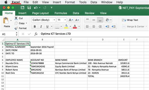 12 free excel payroll template pay stub format