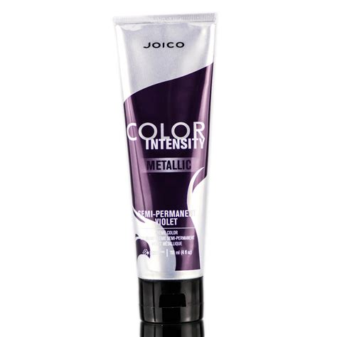 joico semi permanent color joico color intensity metallic semi permanent creme color