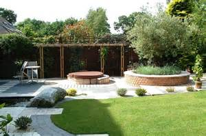 back yard designer landscape gardeners in holland park