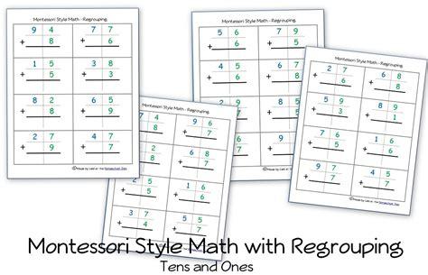 Montessori Worksheets by S Day Math Percent Worksheet Homeschool Den