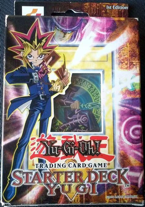 yugi starter deck 1st edition yugioh original konami yugi 1st edition starter deck