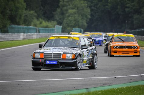 Race On this mercedes 190 e evo ii still got the will race on circuit de spa franchorchs