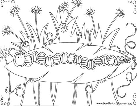 coloring pages doodle art alley insect coloring pages doodle art alley printables