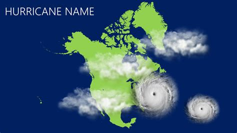 Hurricane Tracker Create Your Own In Powerpoint Presentationpoint Hurricane Powerpoint Template Free